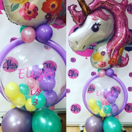 Unicorn Personalised Balloon Model